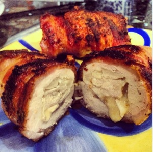 Bacon Wrapped Stuffed Chicken Breast 2